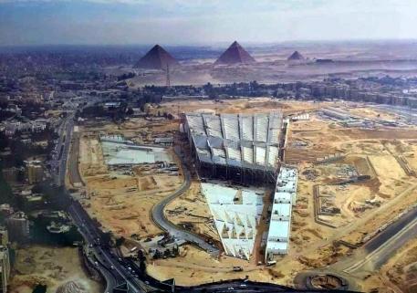 2020-09-15 Grand Egyptian Museum GEM at Giza Grand Pyramids Plateau