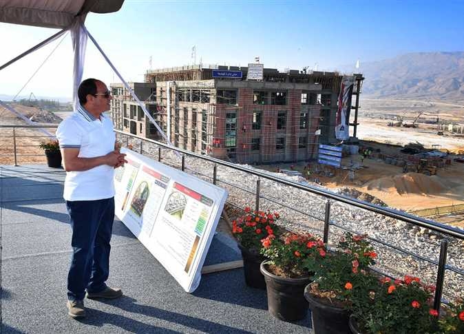 2020-10-27 Egyptian President ElSisi oversees the construction of new Al Galala city Red Sea 03