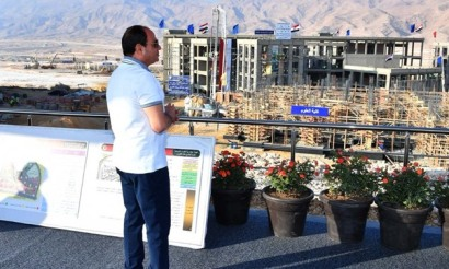 2020-10-27 Egyptian President ElSisi oversees the construction of new Al Galala city Red Sea