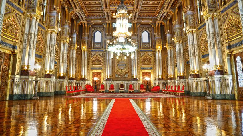 2020-12-30 Egyptian Palace Cairo Abdeen Royal Coronation Room
