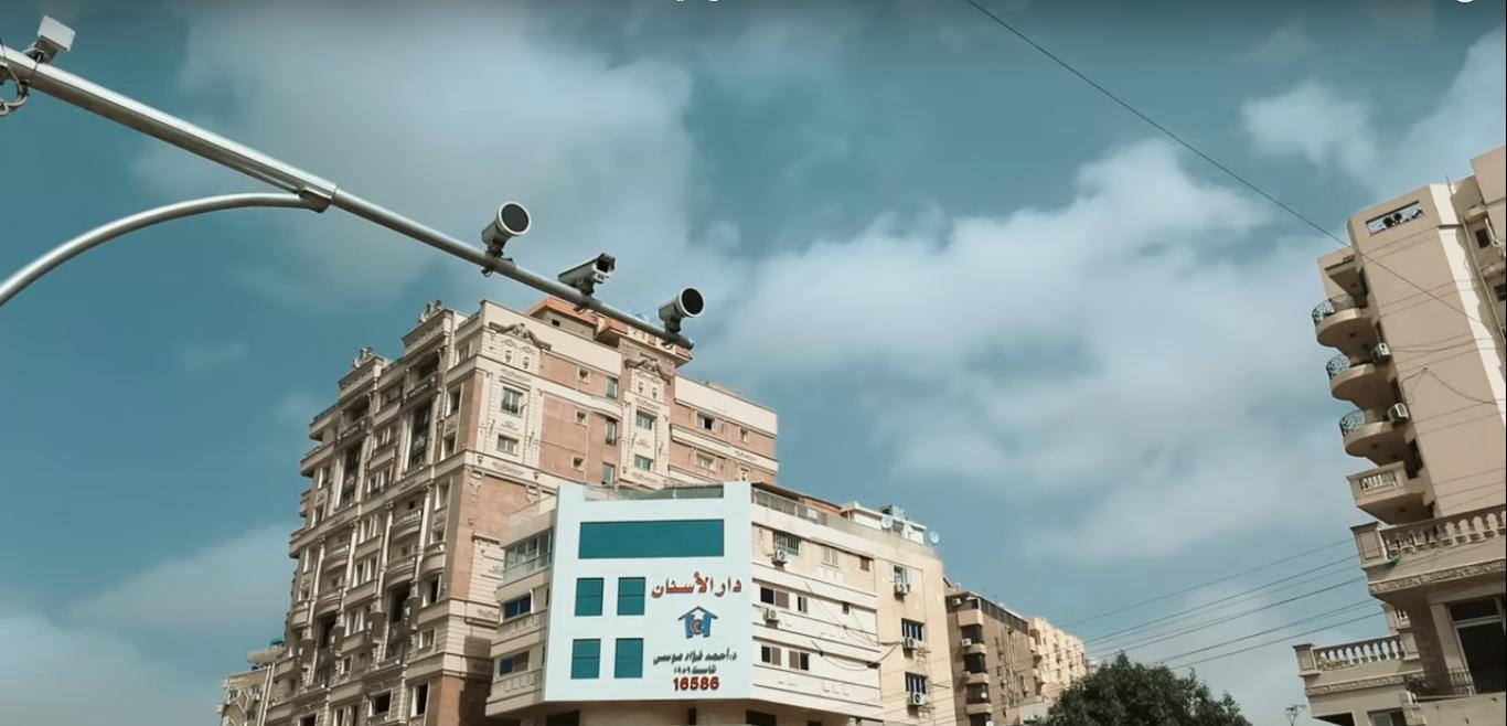 2021-03-08 Egypt Traffic Electronic Surveillance Radar Cameras on Roads 01