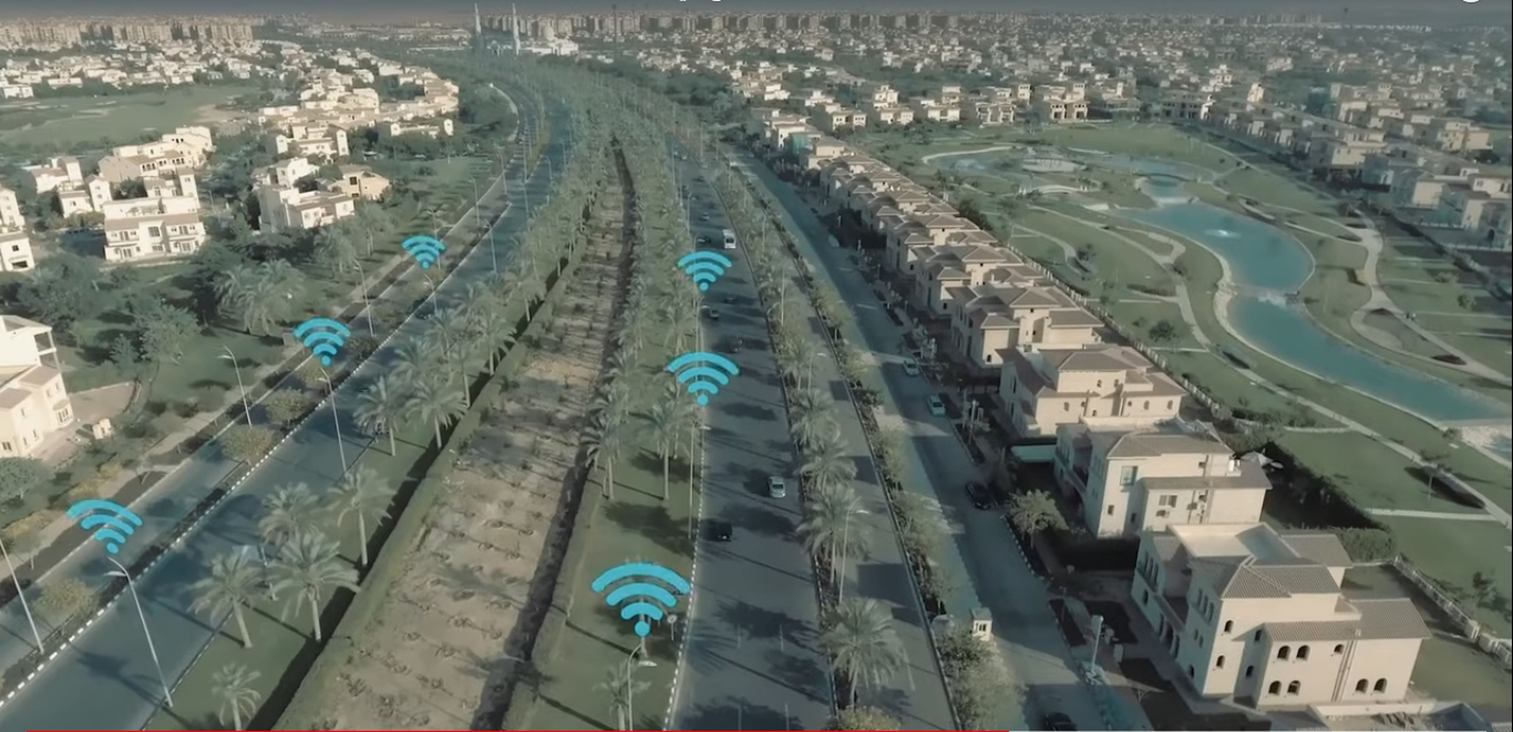 2021-03-08 Egypt Traffic Electronic Surveillance Radar Cameras on Roads 02