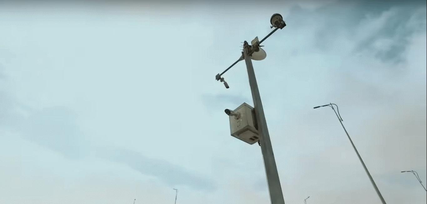 2021-03-08 Egypt Traffic Electronic Surveillance Radar Cameras on Roads 04