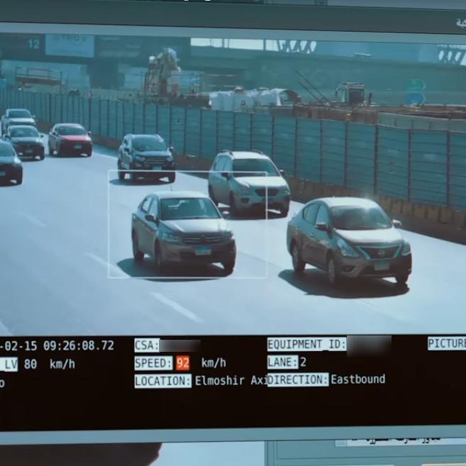 2021-03-08 Egypt Traffic Electronic Surveillance Radars on Highways Automatic Fines 03