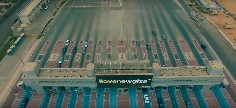 2021-03-09 Egypt Traffic Gates for Giza-Cairo Alexandria highway