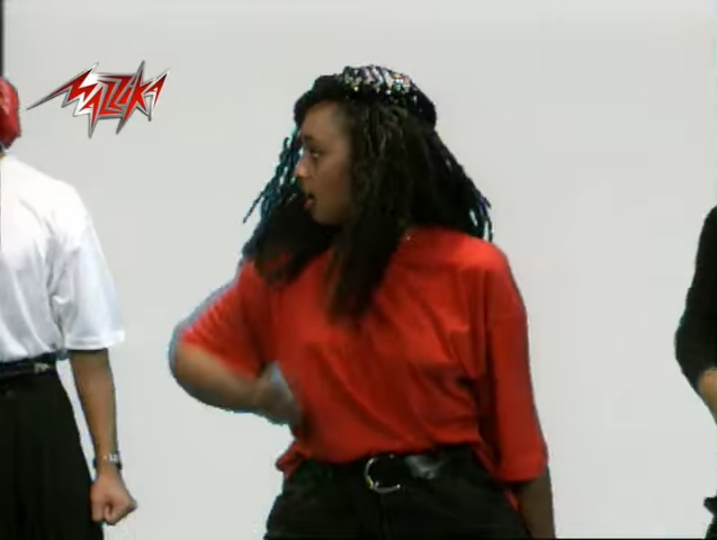 2021-04-05 Halal Aleik Song 1990s Hisham Abbas and Hameed Al Shairi - Dancers 01