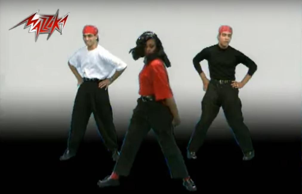 2021-04-05 Halal Aleik Song 1990s Hisham Abbas and Hameed Al Shairi - Dancers 02