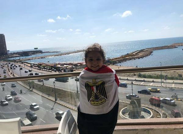 2021-06-03 Fans in Egypt - Girl from Alexandria