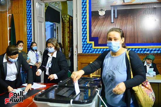 2021-08-29 Egypt Woman participate in Parliament elections 2020 Youm7 05