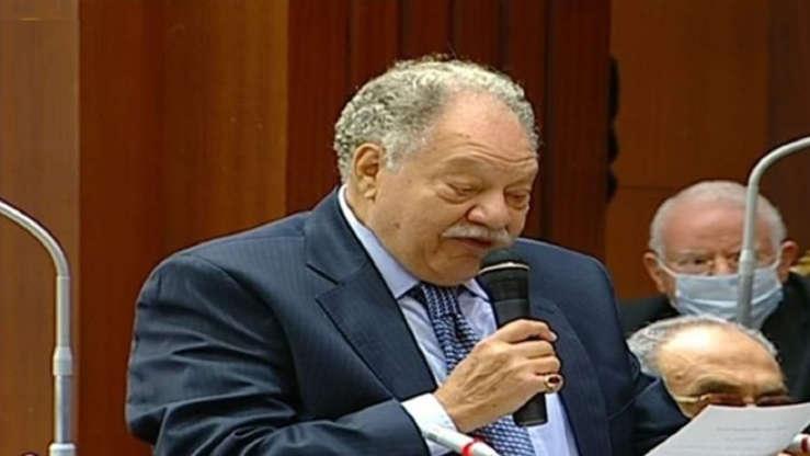 2021-08-29 Egyptian veteran actor Yehia Al-Fakharani appointed by president Elsisi in Senate
